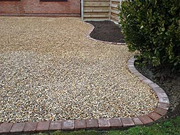 Stone & shingle driveways