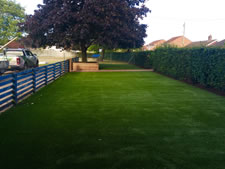 Artificial grass supplied in Norwich, Norfolk